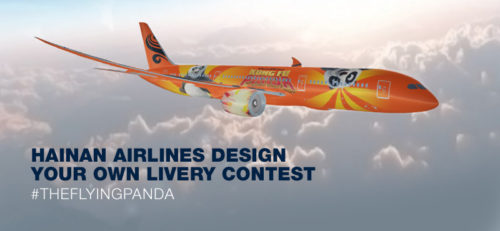kung fu panda hainan airlines design contest livery