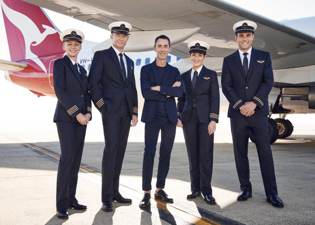 New Qantas uniforms designed by Martin Grant. Source: Qantas