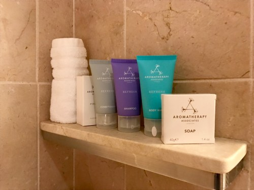 Conrad New York Deluxe Suite - Toiletries