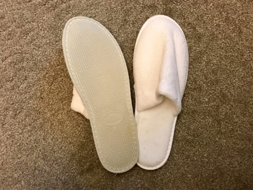 Conrad New York Deluxe Suite - Slippers