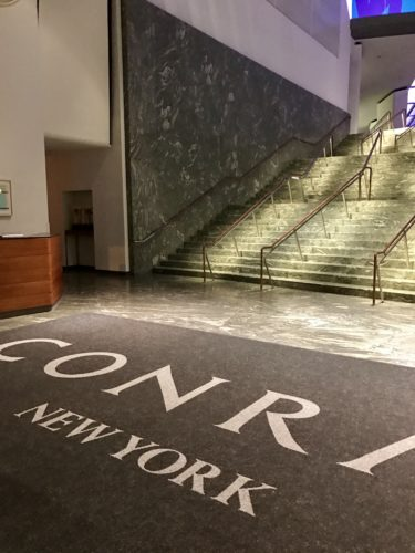 Conrad New York North End Avenue Entrance