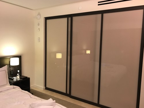 Conrad New York Deluxe Suite - Sliding Glass Door