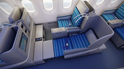 LOT Polish Airlines 787 Dreamliner Business Class