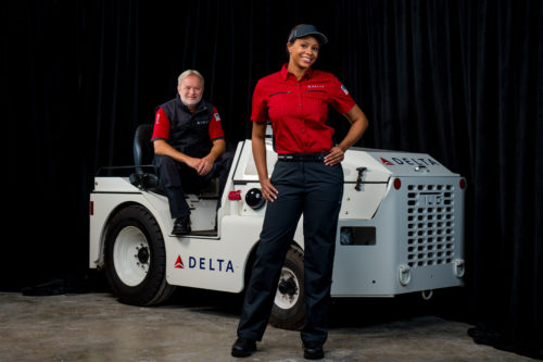 Delta's new uniform for ramp and cargo