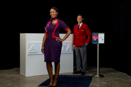 Delta's new uniform by Zac Posen for ticketing and gate agents