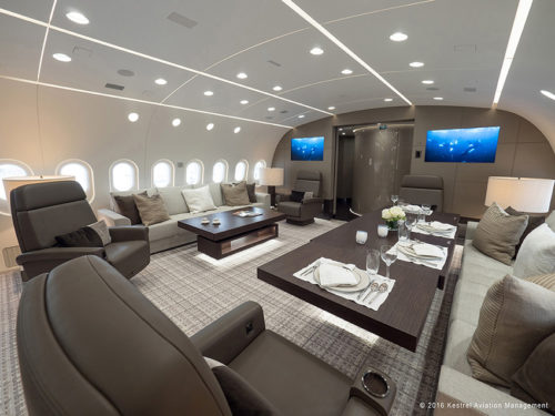 Dream Jet Living Room and Dining Room