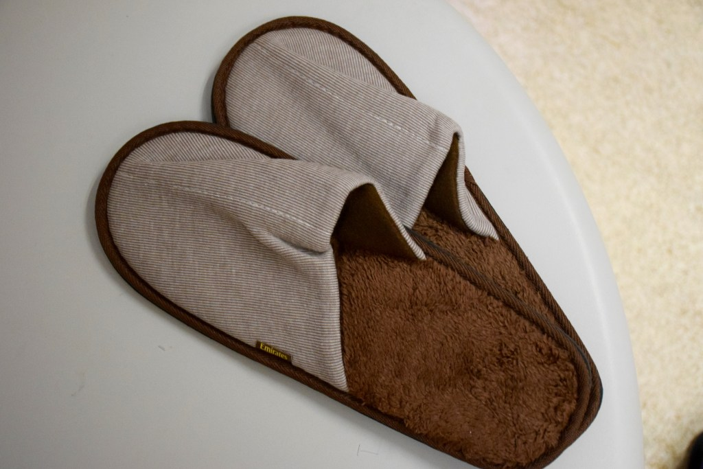 Emirates First Class A380 Slippers