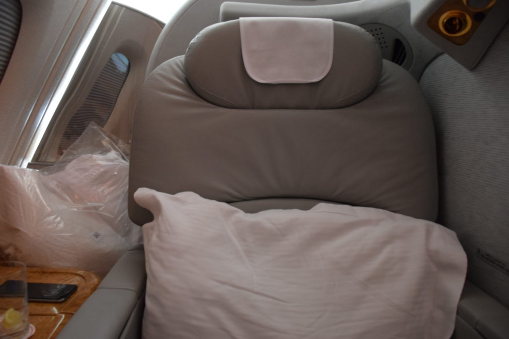 Emirates First Class A380 Seat