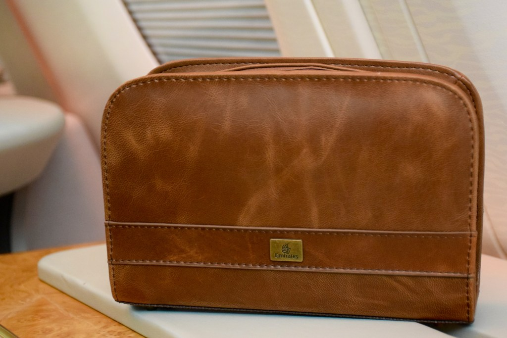Emirates First Class A380 Amenity Kit