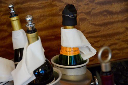 The Emirates Lounge JFK Wine Selection