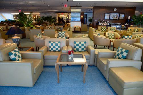 The Emirates Lounge JFK Seating