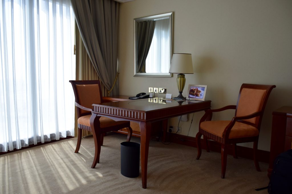 Grand Hyatt Dubai Grand King Room - Work Desk