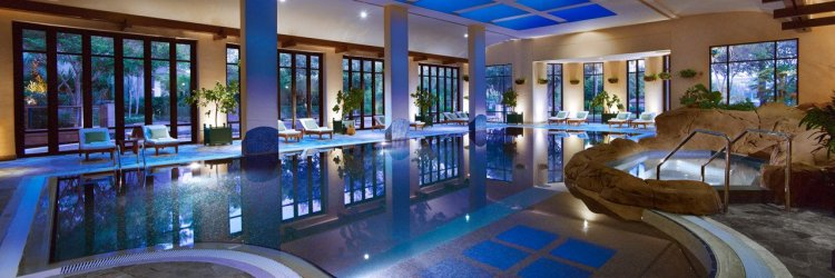Grand Hyatt Dubai  - Indoor Pool. Photo by hotel.