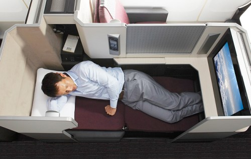 Japan Airlines Business Class on 777