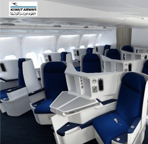 Kuwait Airways A330 First Class. Kuwait Airways/Instagram
