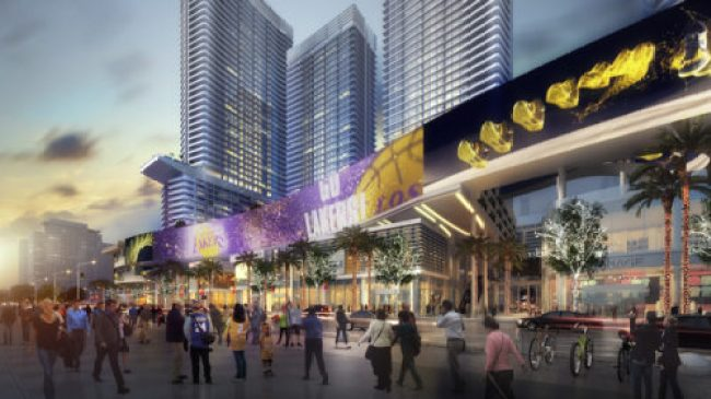 Rednering of Oceanwide Plaza by CallisonRTKL, the future home of a Los Angeles Park Hyatt.