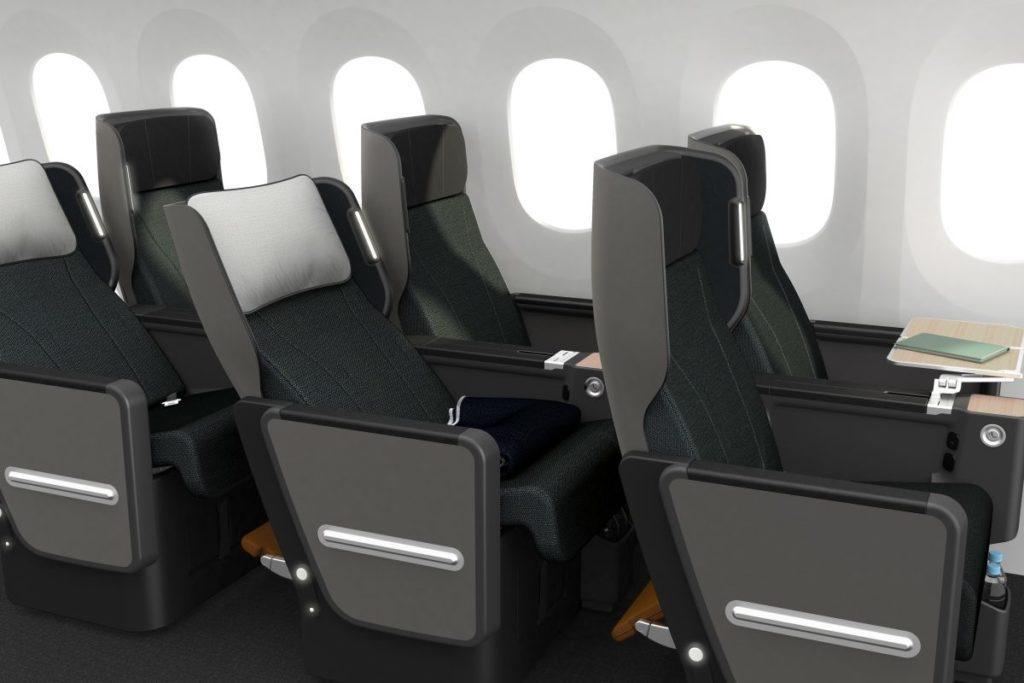 The new Qantas Premium Economy product will debut on the Boeing 787-9. Source: Qantas