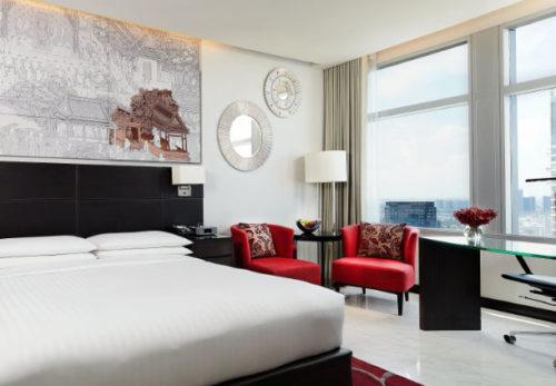 Bangkok Marriott Hotel Sukhumvit is a Marriott Category 5 Hotel