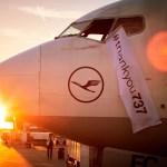 The Lufthansa 737 retirement flight. Oliver Roesler Oro/Lufthansa