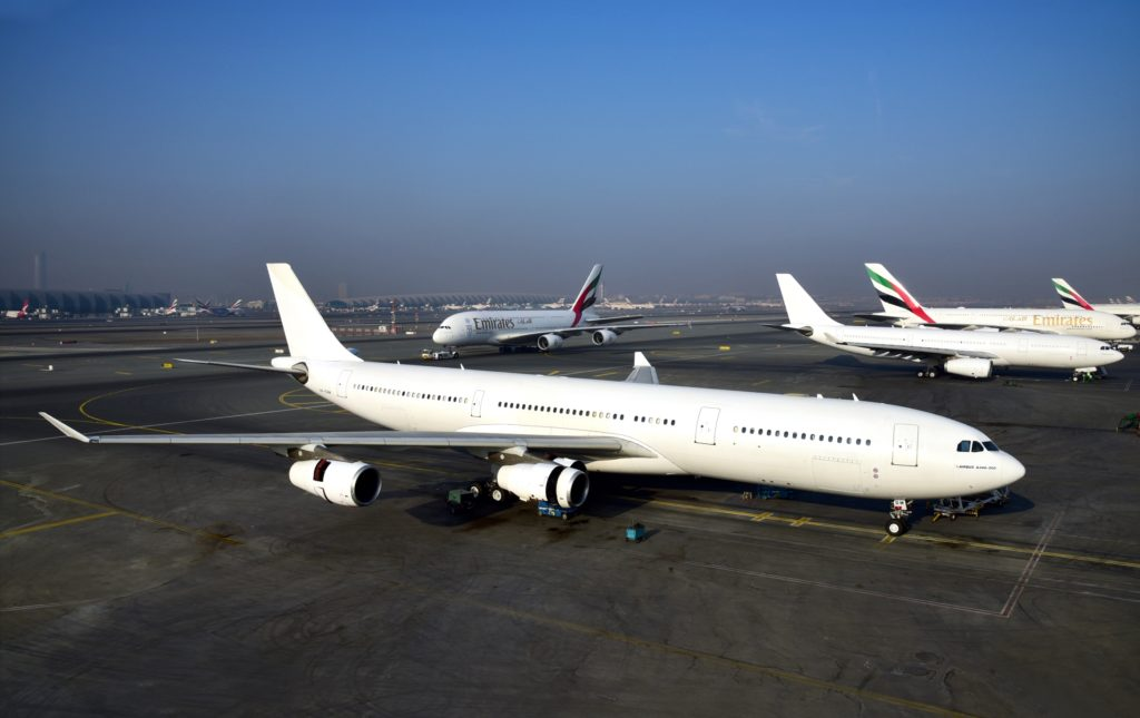 Emirates recently retired the last A330 and A340 from their fleet, leaving them with a fleet made up only just A380 and B777. Source: Emirates