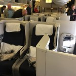 British Airways 777-200 Club World (Business Class) Cabin
