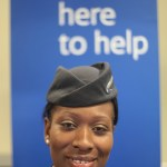 British Airways agent at London City Airport. Source: British Airways call center