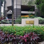 Four Seasons Singapore Entrance