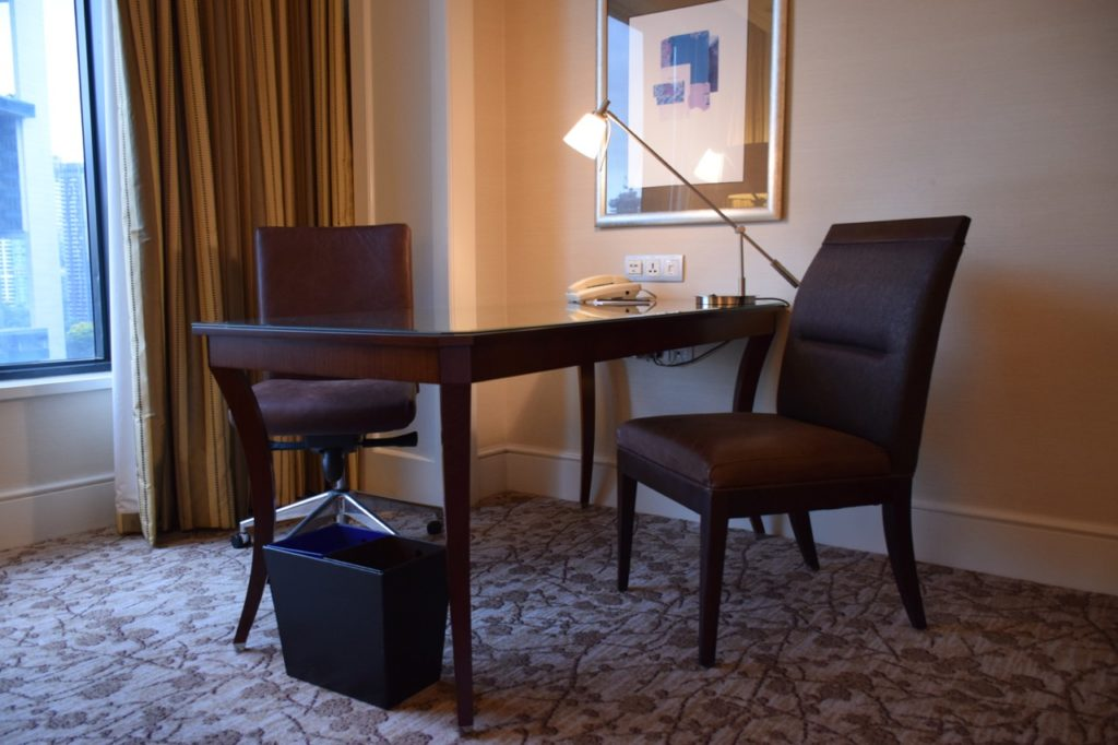 Four Seasons Singapore Work Desk