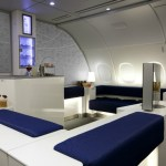 Korean Air Celestial Bar for First and Busiess Class passengers on the A380. Source: Korean Air