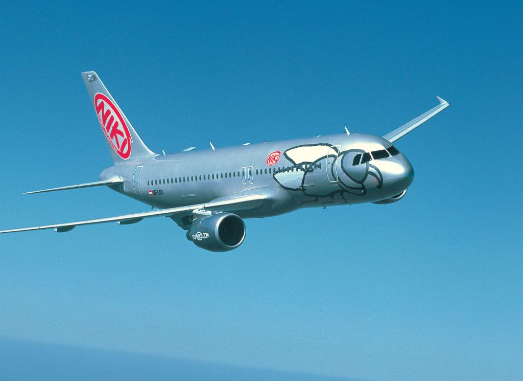A Niki A320 aircraft. Source: Niki