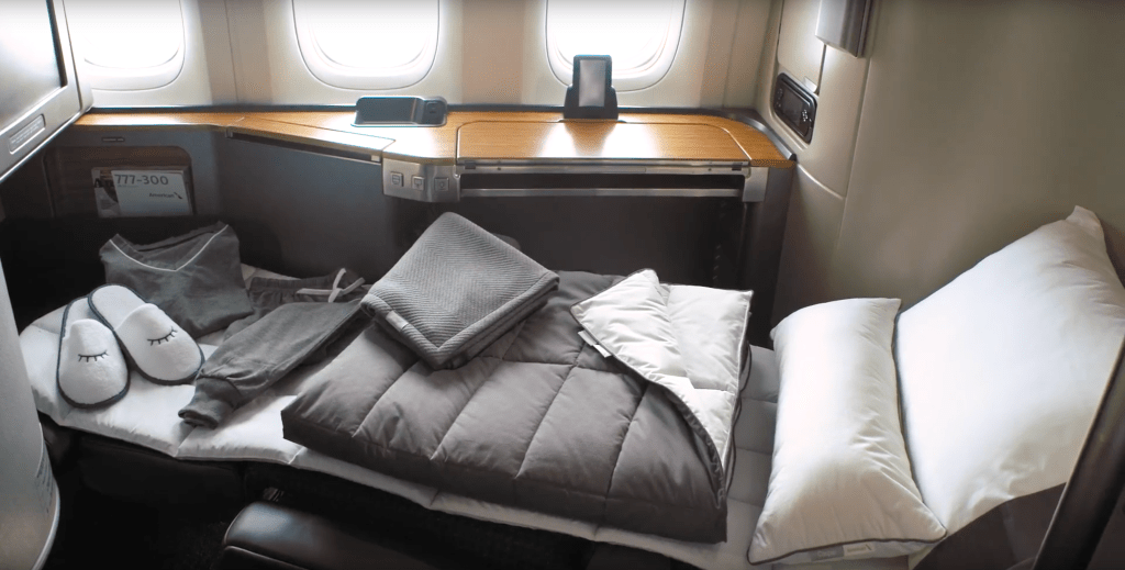 American Airlines Rolling Out In Flight Bedding By Casper