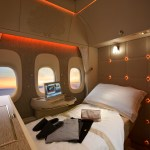 New First Class on Emirates B777-300ER. Source: Emirates