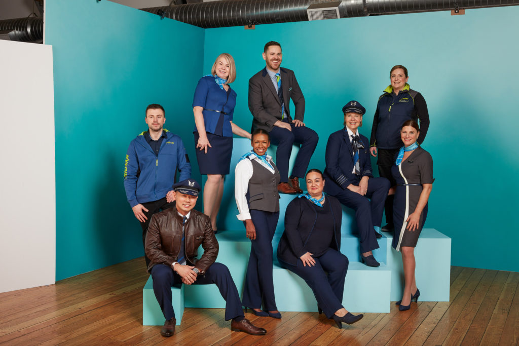 The new Alaska Airlines uniform is set to debut systemwide late 2019. Source: Alaska Airlines