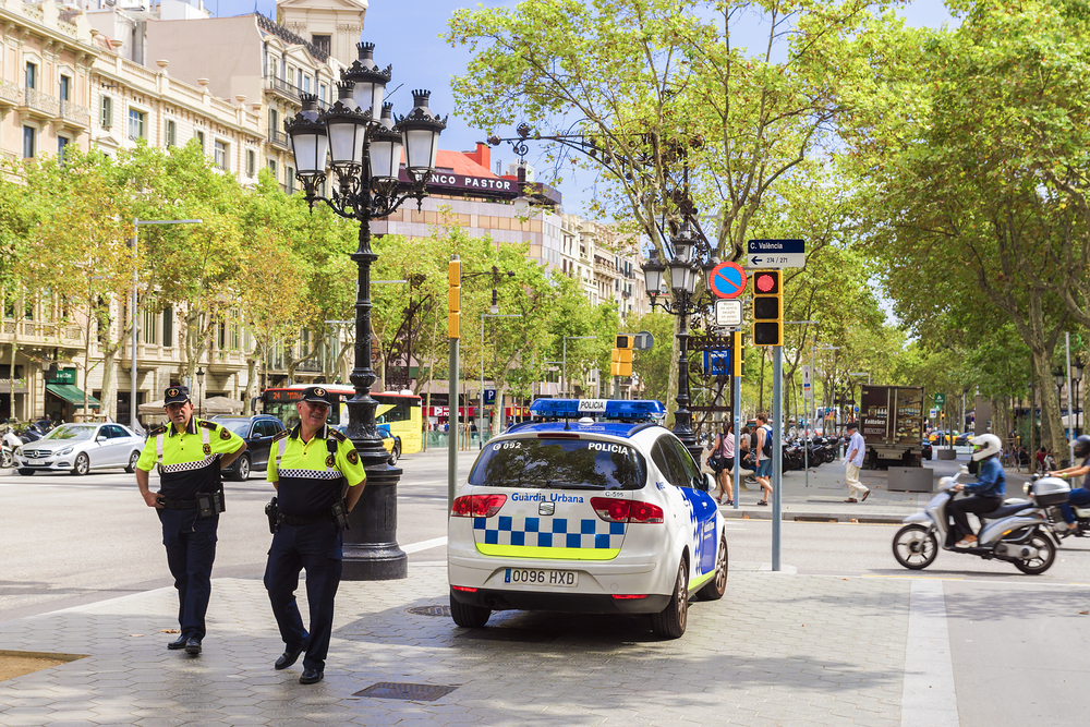 Spanish police, as well as others in Europe, have the right to ask you to produce identification at any time.