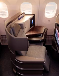 El al dreamliner business class also where to sit in on   point me rh pointmetotheplaneardingarea