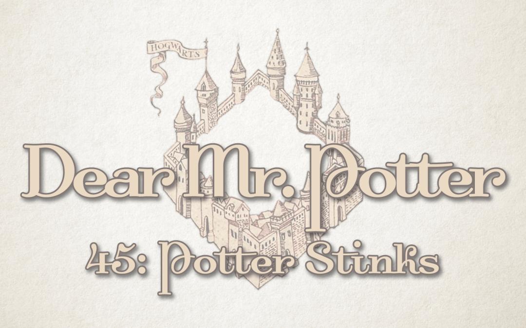 Dear Mr. Potter 45: Potter Stinks