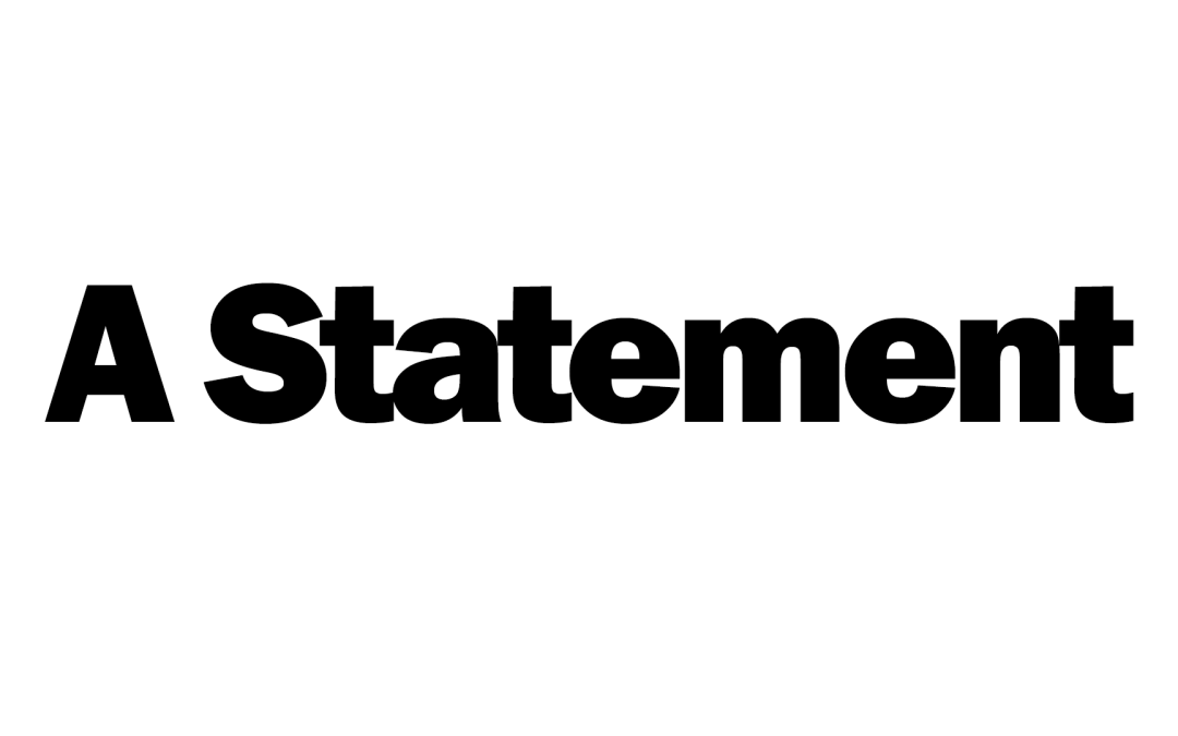 A Statement