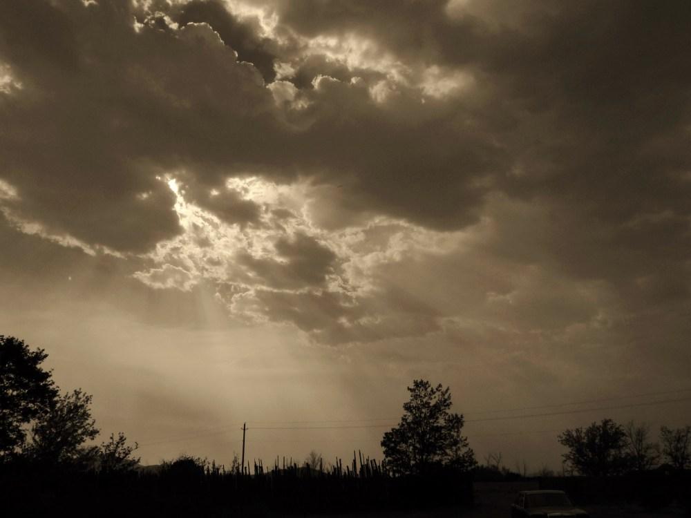 sunset 6.8.2013 (1/4)
