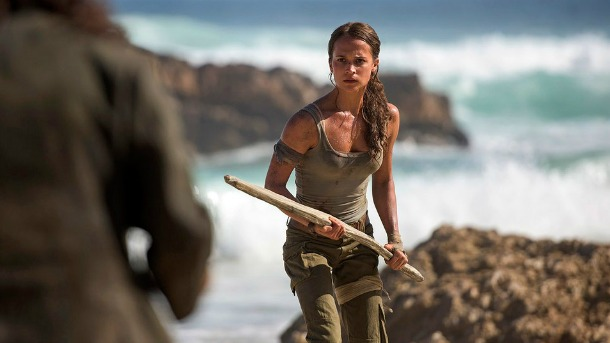 Alicia Vikander Shoots, Stabs, and Leaps In Latest Tomb Raider Trailer