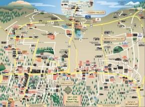 Prescott Location Map