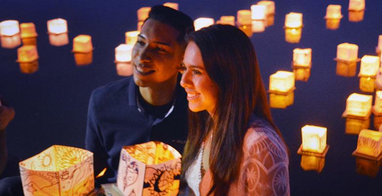 Prescott's Water Lantern Festival