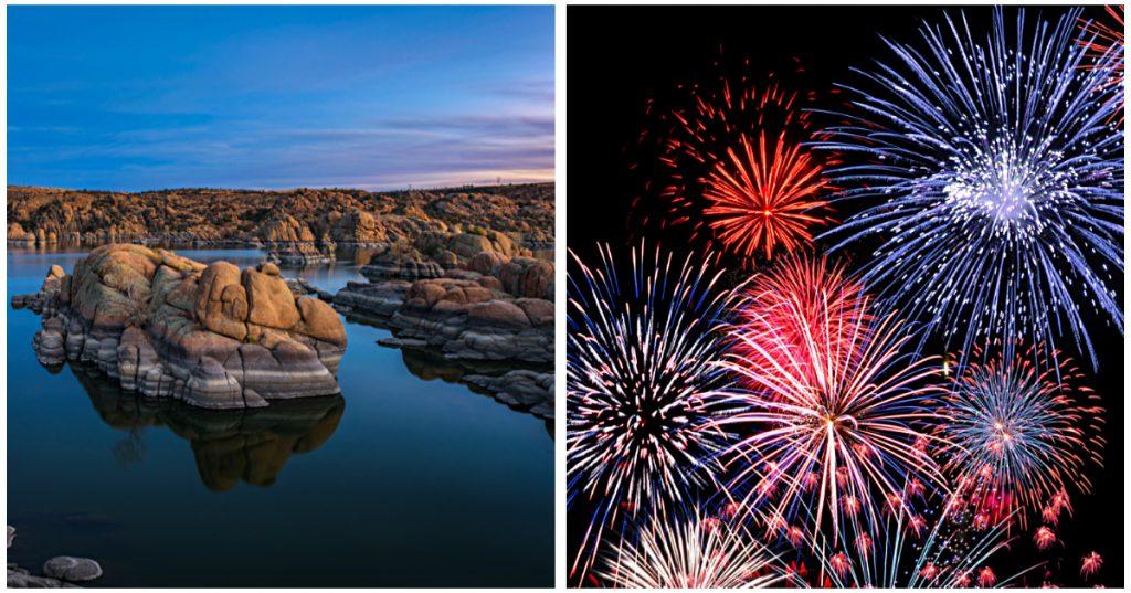 Prescott 4th of July Fireworks