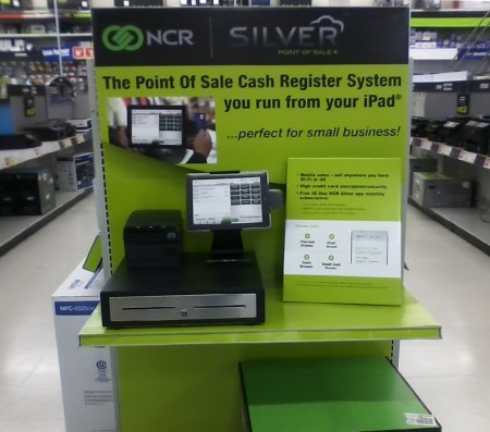 NCR Silver at Staples - End Cap