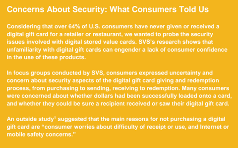 gift card security