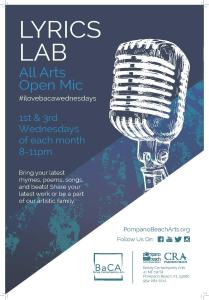 Lyrics Lab at BaCA @ Bailey Contemporary Arts