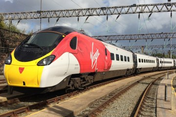 Virgin trains replace Brightline in Pompano Beach and South Florida. Courtesy photo