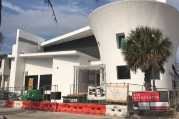 Fishing Pier; Oceanic Restaurant in Pompano Beach May update