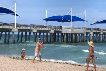 Pompano Beach Fishing Pier Fee- Fisher Family Pier