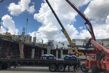 Pompano Beach Construction News: Work is moving rapidly on the Fishing Village Hotel