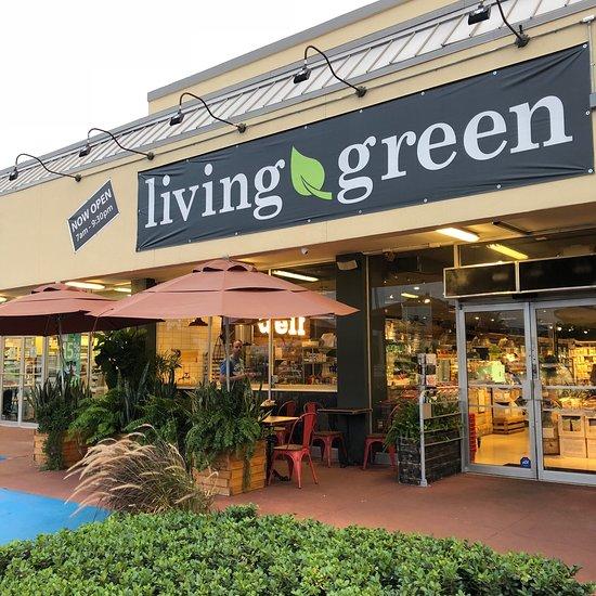 Pompano Beach restaurant Living Green courtesy: Trip Advisor